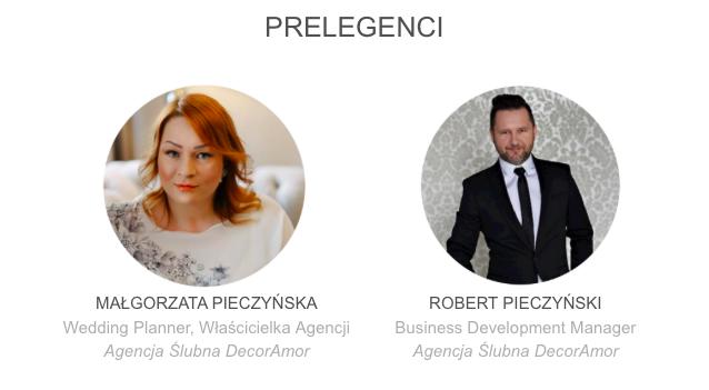 Szkolenie kurs konsultant ślubny wedding planner - Prelegenci