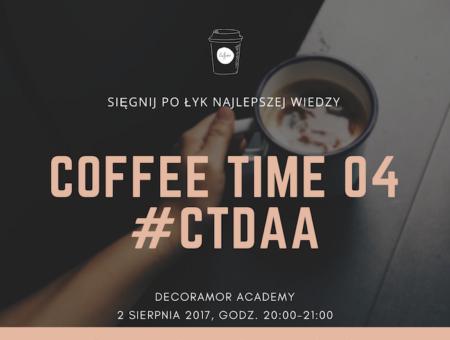 Coffee Time - webinar dla konsultantów ślubnych