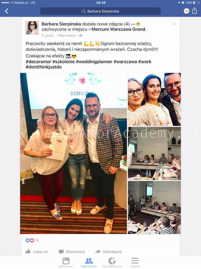 p-10- Agencja Ślubna DecorAmor Wedding Planner Konsultant Ślubny Organizacja Wesel Szkolenie Kurs Warszawa Szczecin Poznań Wrocław Kielce Kraków Katowice Gdańsk Academy