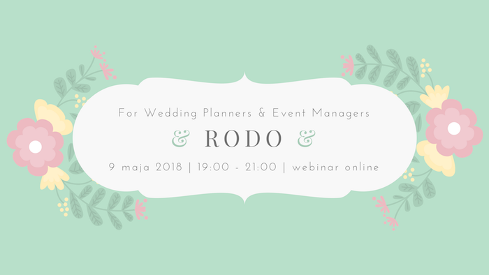 700px RODO for wedding planners