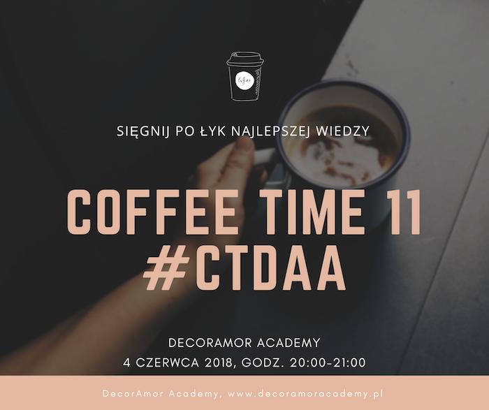 CoffeeTime 11 - webinar konsultant ślubny wedding planner organizacja wesel