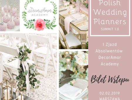 Polish Wedding Planners Summit Bilet