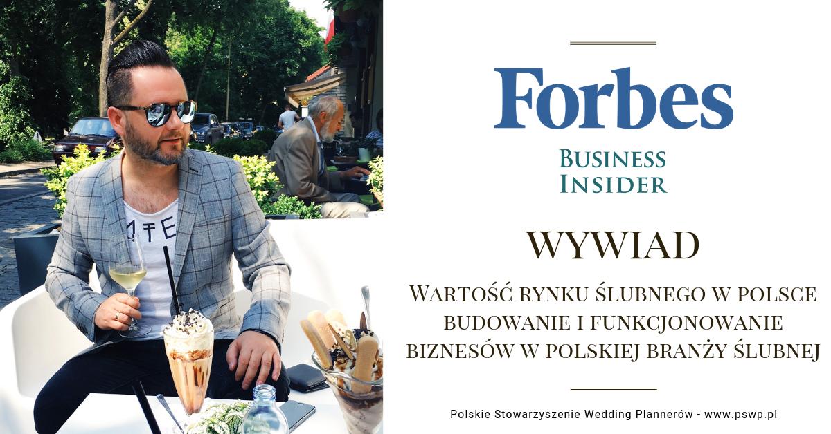 Forbes - wywiad Robert Pieczyński