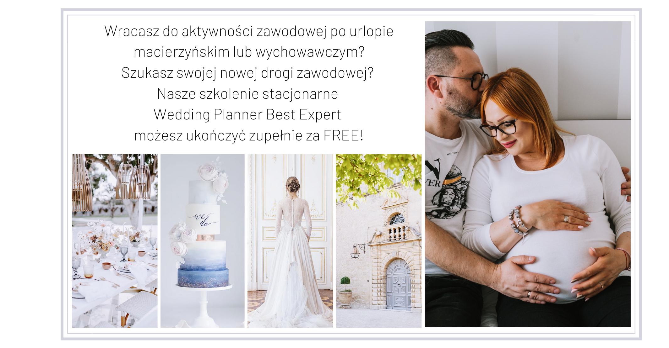 Kurs Wedding Planner dla mam za darmo
