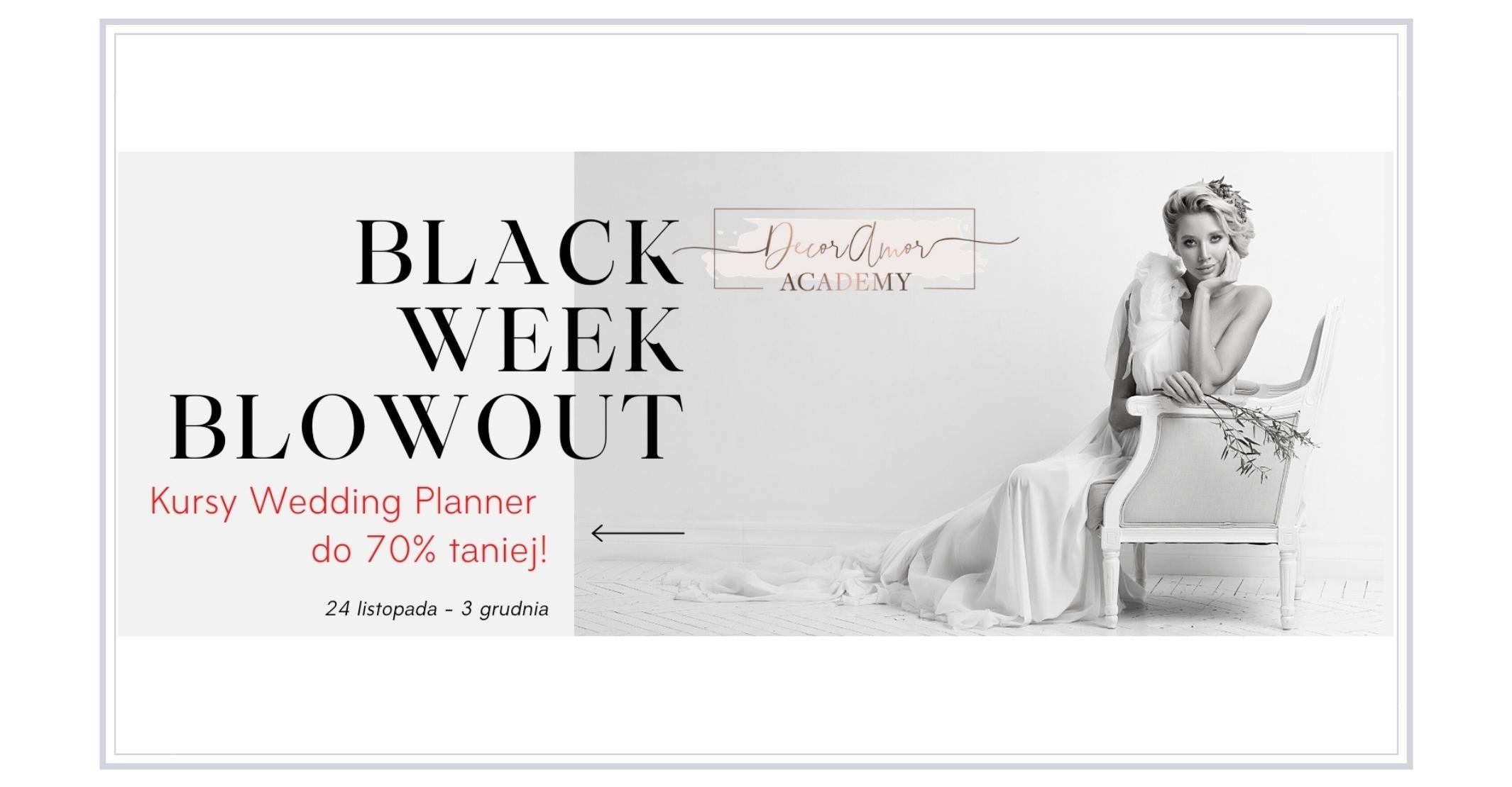 Kursy Wedding Planner - BLACK WEEK