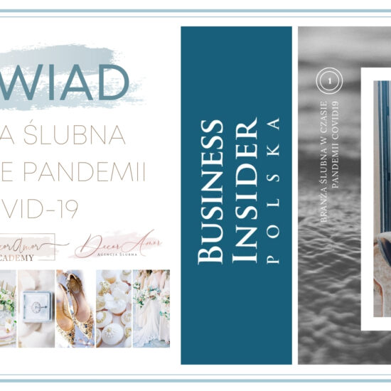 Business Insider - wywiad Robert Pieczyński DecorAmor Academy, Polskie Stowarzyszenie Wedding Plannerów